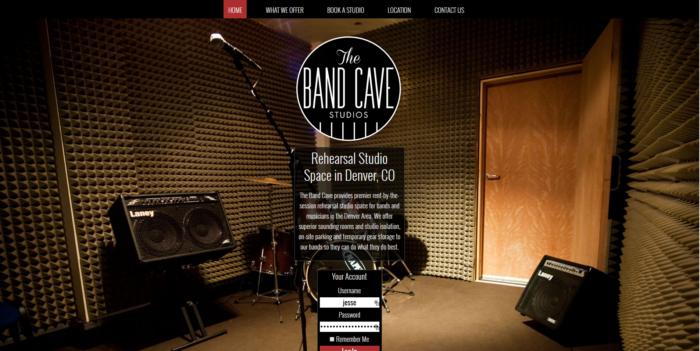 thebandcavestudios.com